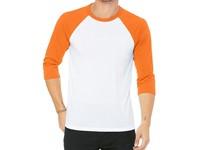 Canvas Unisex 3 / 4 Sleeve Baseball T-Shirt