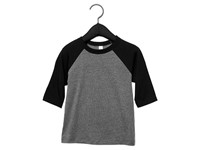 Canvas Toddler 3/4 Sleeve Baseball Tee
