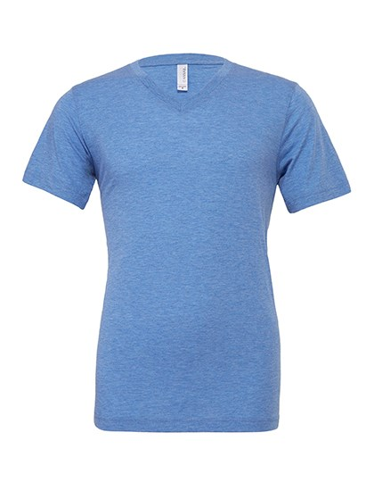 Canvas Unisex Triblend V-Neck T-Shirt