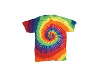 Dyenomite Multi Spiral Youth T-Shirt