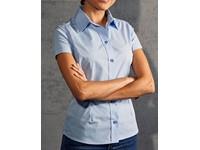 Promodoro Women`s Poplin Shirt Short Sleeve