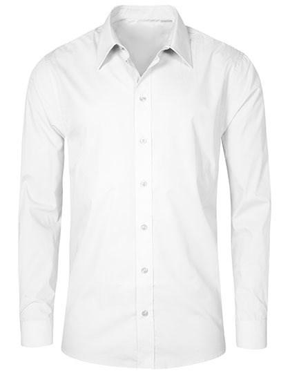 Promodoro Men`s Poplin Shirt Long Sleeve