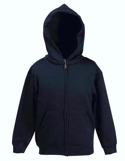 Fruit of the Loom Premium Hooded Sweat Jacket Kids