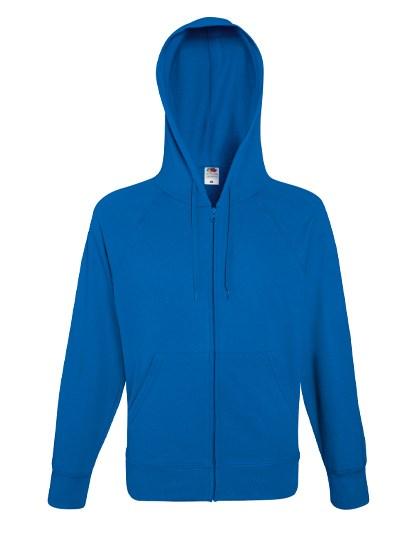 Fruit of the Loom Lightweight Hooded Sweat Jacket