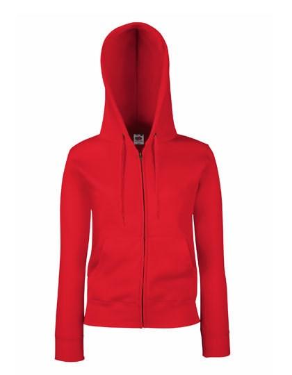 Fruit of the Loom Ladies Premium Hooded Sweat Jacket