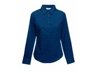Fruit of the Loom Ladies Long Sleeve Poplin Shirt