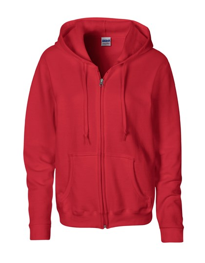 Gildan Heavy Blend™ Ladies` Full Zip Hooded Sweatshirt