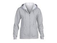 Gildan Heavy Blend™ Ladies` Full Zip Hooded Sweatshirt