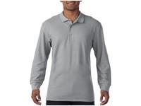 Gildan Premium Cotton® Long Sleeve Double Piqué Polo