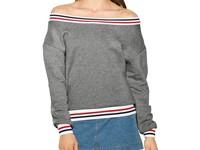 American Apparel Women`s Heavy Terry Sport Sweatshirt