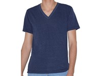 American Apparel Unisex Tri-Blend Short Sleeve V-Neck T-Shirt