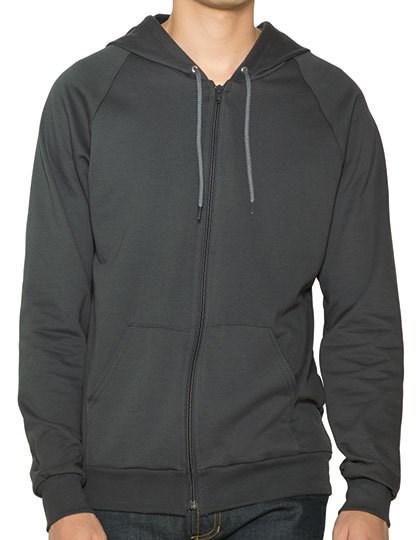 American Apparel Unisex California Fleece Zip Hooded Sweatshirt