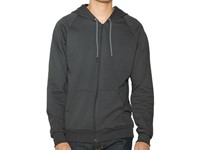 American Apparel Unisex California Fleece Zip Hooded Sweatshirt