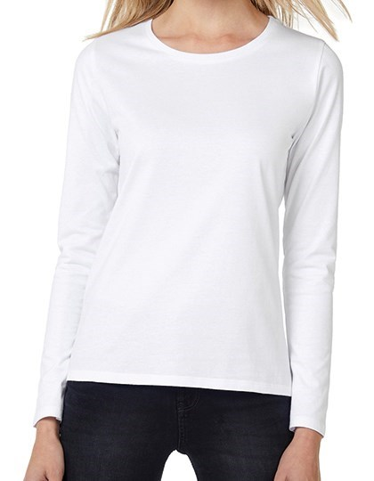 B&C T-Shirt #E190 Long Sleeve / Women
