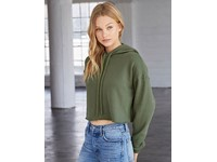 Bella Women´s Cropped Fleece Hoodie