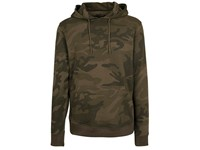 Build Your Brand Camo Hoody