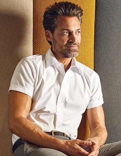 Promodoro Men`s Poplin Shirt Short Sleeve