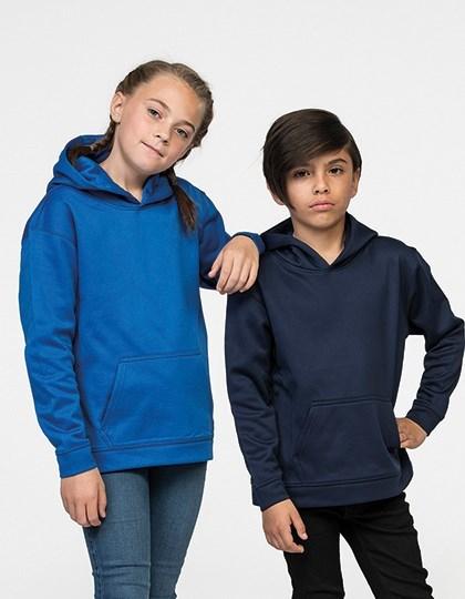 Just Hoods Kids Sports Polyester Hoodie