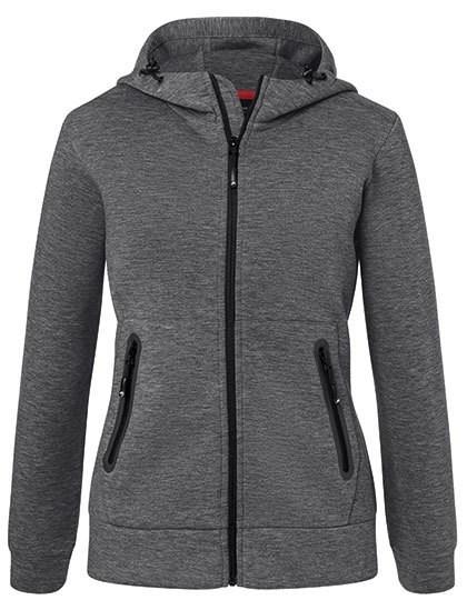 James+Nicholson Ladies` Hooded Jacket