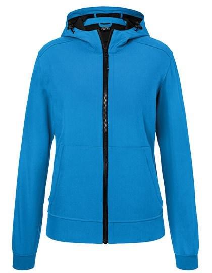 James+Nicholson Ladies` Hooded Softshell Jacket