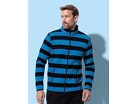 Stedman® Active Striped Fleece Jacket for men