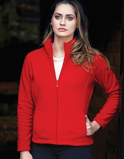 Starworld Ladies` Full Zip Fleece Jacket