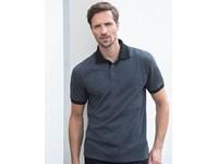 Henbury Contrast Tri Blend Polo Shirt
