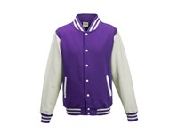 Just Hoods Varsity Jacket