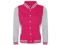 Just Hoods Girlie Varsity Jacket