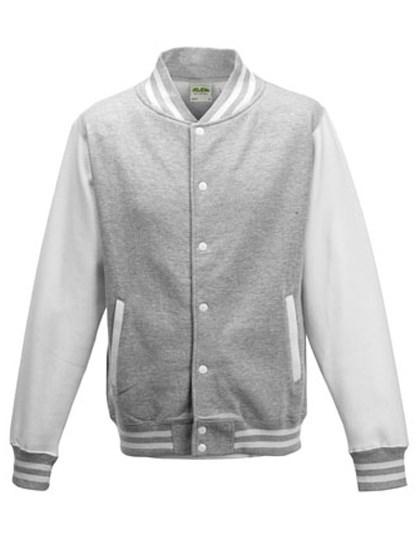 Just Hoods Kids` Varsity Jacket