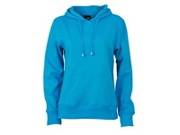 James+Nicholson Ladies` Hooded Sweat