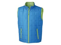 James+Nicholson Men`s Padded Light Weight Vest
