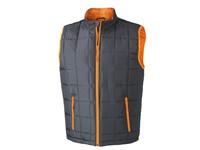 James+Nicholson Men`s Padded Light Weight Vest