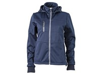 James+Nicholson Ladies` Maritime Softshell-Jacket