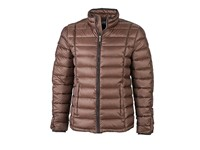 James+Nicholson Men`s Quilted Down Jacket