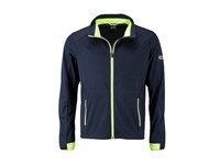 James+Nicholson Men`s Sports Softshell Jacket