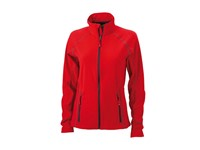 James+Nicholson Ladies` Structure Fleece Jacket