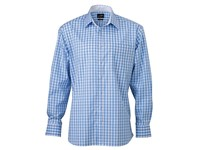 James+Nicholson Men`s Checked Shirt