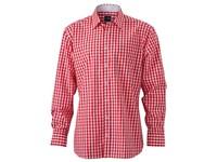 James+Nicholson Men`s Checked Shirt