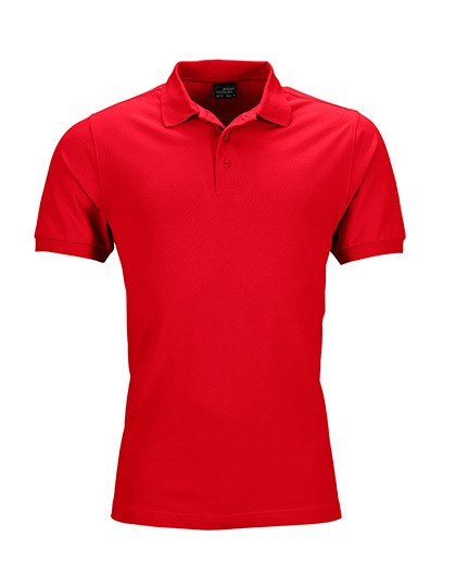 James+Nicholson Men`s Elastic Polo Piqué