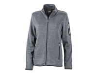 James+Nicholson Ladies` Knitted Fleece Jacket