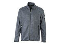 James+Nicholson Men`s Knitted Fleece Jacket