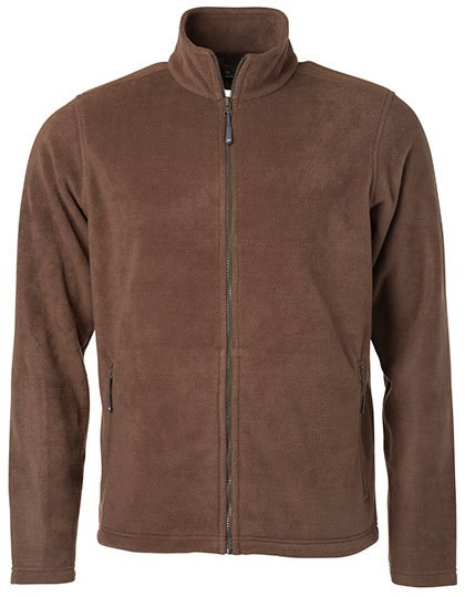 James+Nicholson Men`s Fleece Jacket
