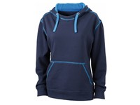 James+Nicholson Ladies` Lifestyle Hoody