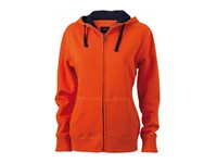 James+Nicholson Ladies` Lifestyle Zip-Hoody