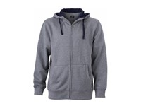 James+Nicholson Men`s Lifestyle Zip-Hoody