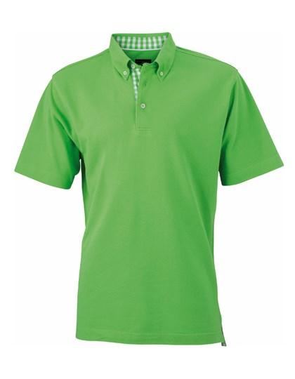 James+Nicholson Men`s Plain Polo