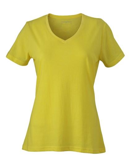 James+Nicholson Ladies` Heather T-Shirt