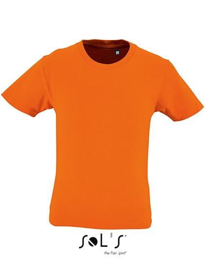 SOL´S Kids` Round Neck Short-Sleeve T-Shirt Milo