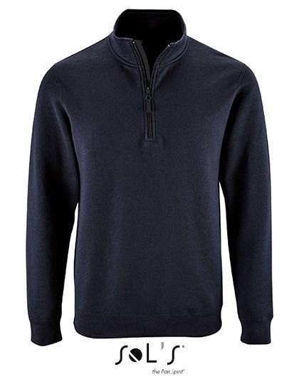 SOL´S Men`s Zip High Collar Sweatshirt Stan